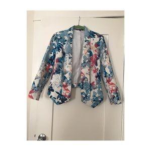 Mossimo Floral Blazer XS
